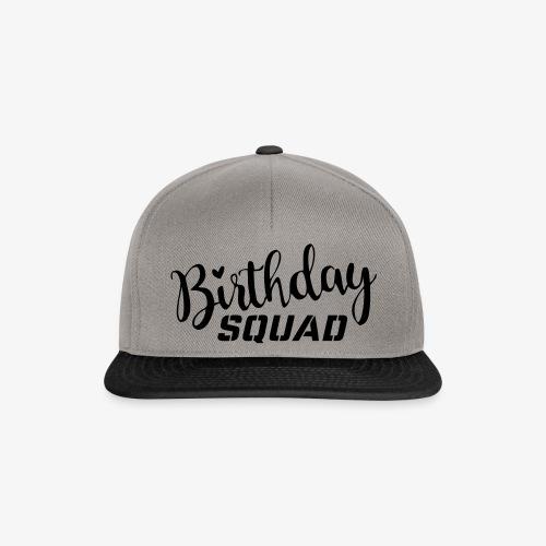 Birthday squad - Snapback Cap