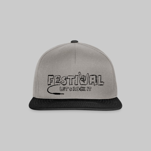Festival, Let's Rock It - Snapback Cap
