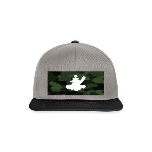 LogoCamouflage - Snapback Cap