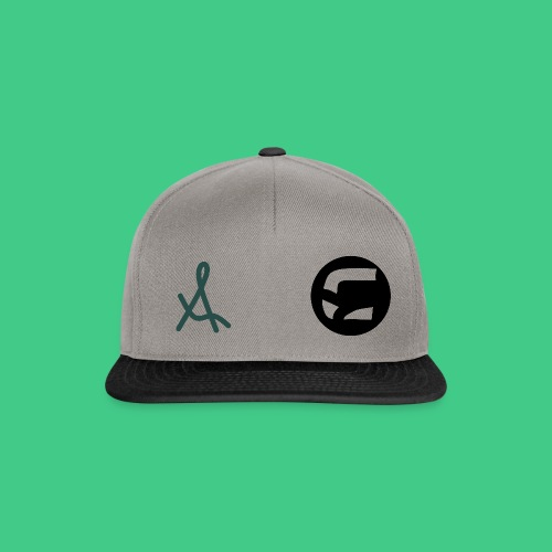 curedcircledesign2 png - Snapback Cap