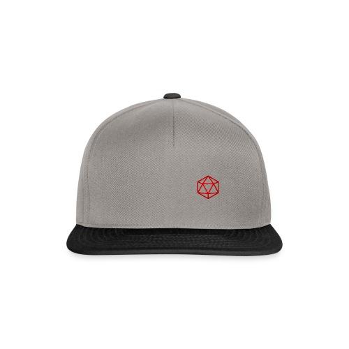 D20 Red - Snapback cap