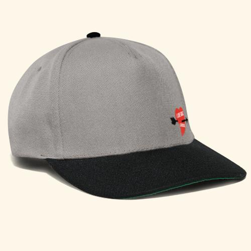 I LOVE GRAZ LACROSSE - Snapback Cap