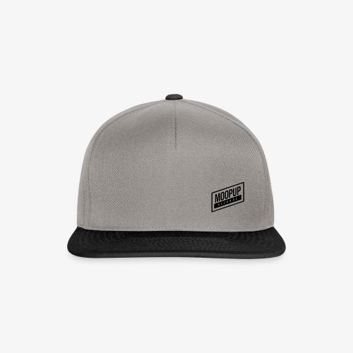 Moopup Records Merchandising (Black Logo) - Gorra Snapback