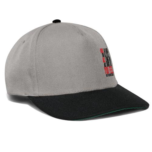 Ride as you feel - Casquette snapback