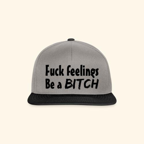 Fuck Feelings - Snapback Cap