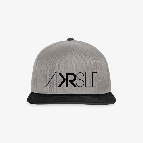 AKRSLT sign black - Snapback Cap
