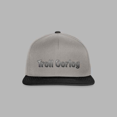 Troll Oorlog logo 2 - Snapback Cap
