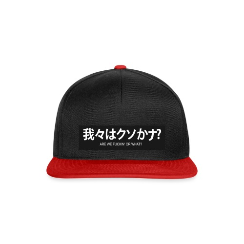 Or What - Snapback Cap
