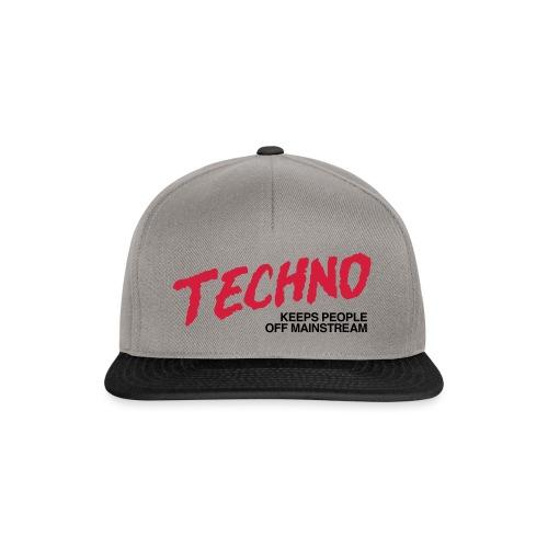 Techno music - Snapback Cap