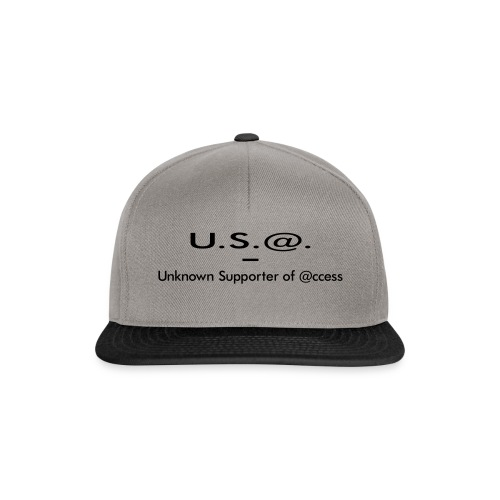 U.S.@. - Unknown Supporter of @ccess - Snapback Cap
