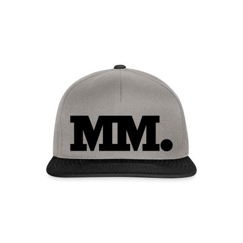 mm logo - Snapback Cap