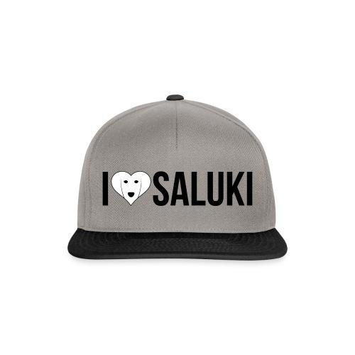 I Love Saluki - Snapback Cap