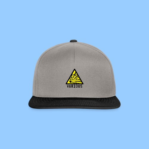 VariousExplosions Triangle (2 colour) - Snapback Cap