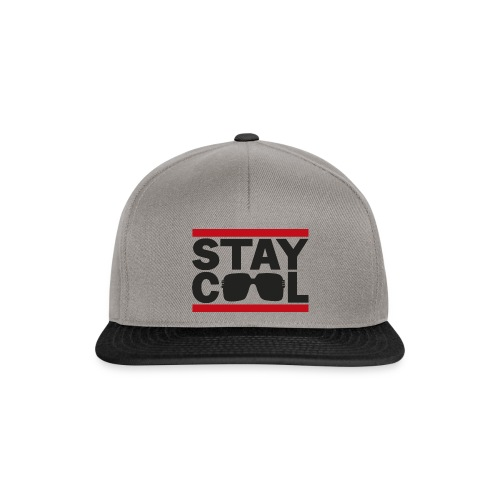 Stay Cool ver01 - Snapback Cap