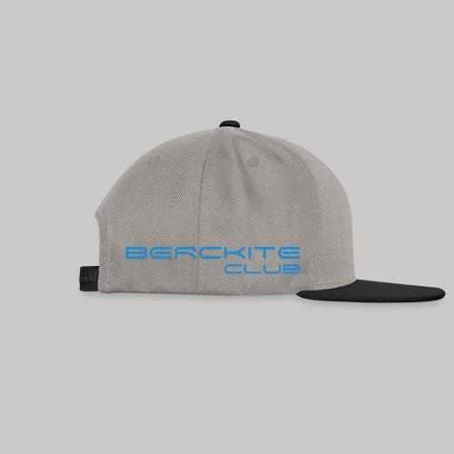BercKite Club Bleu + Logo - Casquette snapback