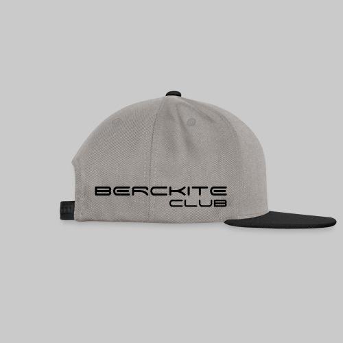 BercKite Club Noir + Logo - Casquette snapback