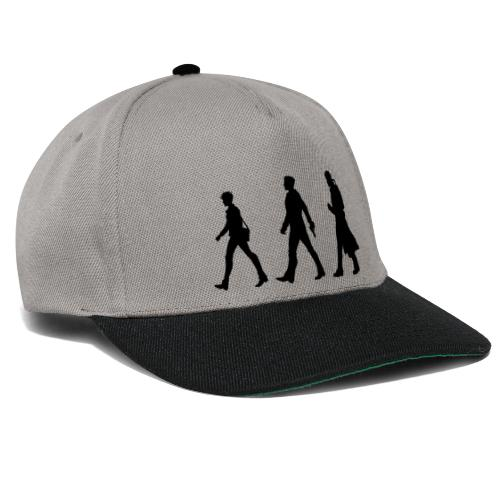 Black Title and Character design - Snapback Cap