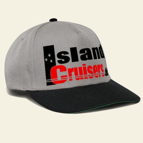 Island cruisers black - Snapback Cap
