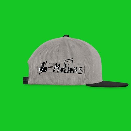 Muziek emoties transparant - Snapback cap
