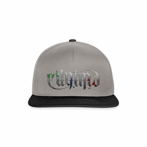 Cityard Ambigram HeavyMetal CMYK - Snapback Cap