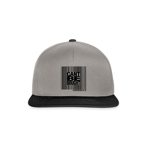 Casquettes Can't be Bought ! - Casquette snapback