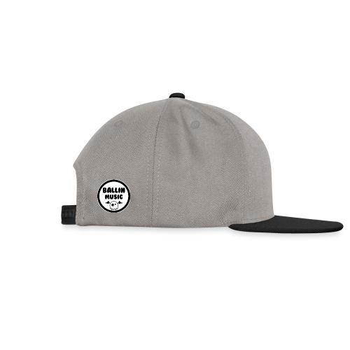 Ballin Music PP png - Snapback Cap