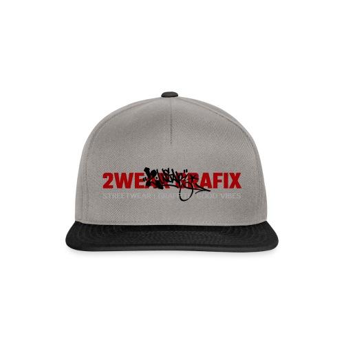 2wear Grafix Box Logo - Snapback Cap