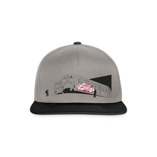 Throw up 2wear graffiti trains ver02 1 - Snapback Cap
