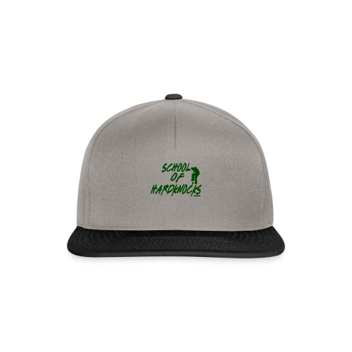 school of hardknocks ver 0 2 green - Snapback Cap