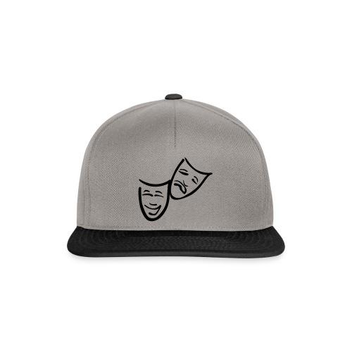 Theatermasken - Snapback Cap