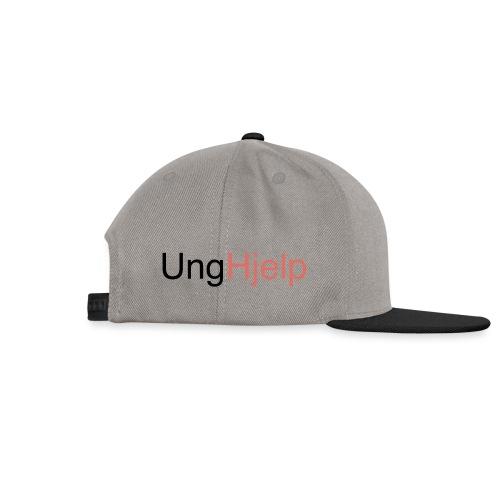 unghjelp sort - Snapback-caps