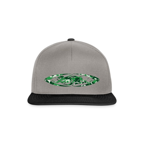 2wear original logo cammo green - Snapback Cap
