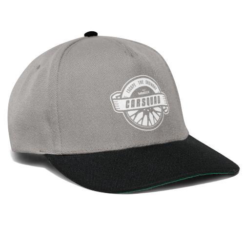 carsquad badge - Snapback Cap