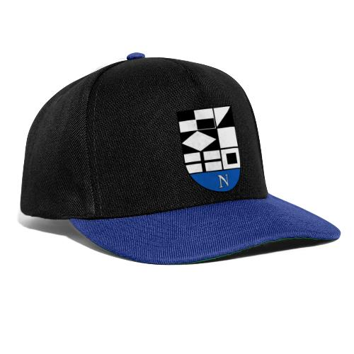 1200px Coat of arms of Neringa Lithuania svg - Snapback Cap