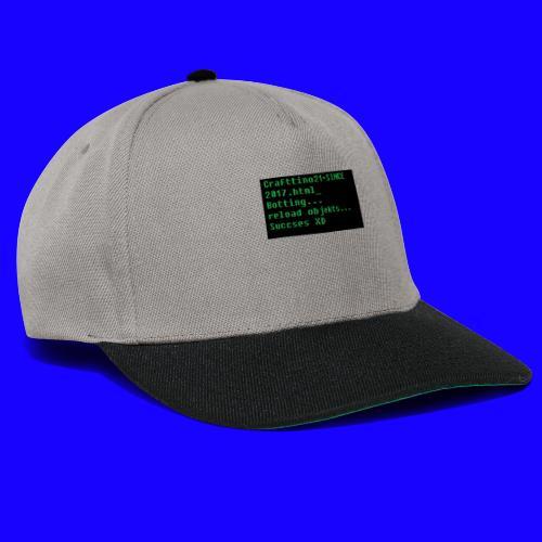 Crafttino21 Booting dising - Snapback Cap