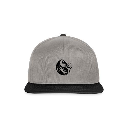 YIN & YANG Geckos black - Snapback Cap