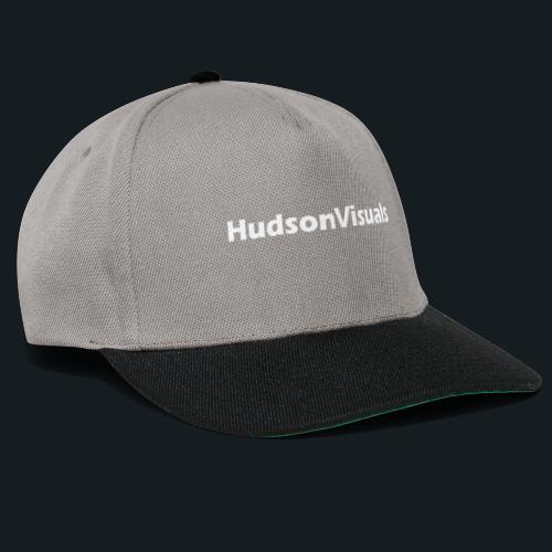 HudsonVisuals Logo Back - Snapback Cap