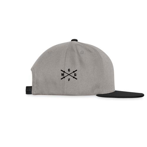 CFMD Crossed Barbells klein rechts - Snapback Cap