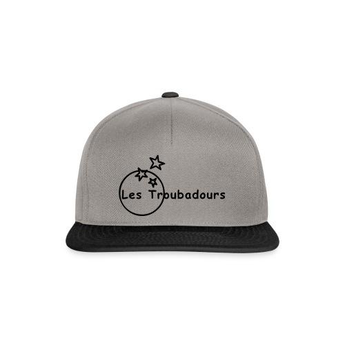 Logo LES TROUBADOURS - Casquette snapback