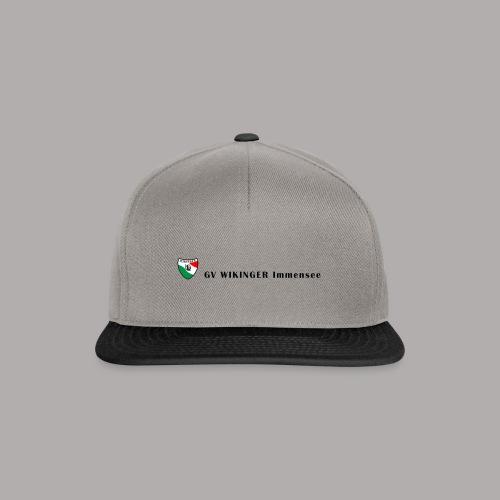 Wappenbanner, schwarz(vorne)Zirkel,schwarz(hinten) - Snapback Cap