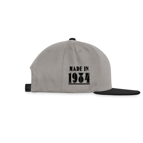 MADE IN 1984 - Snapback Cap