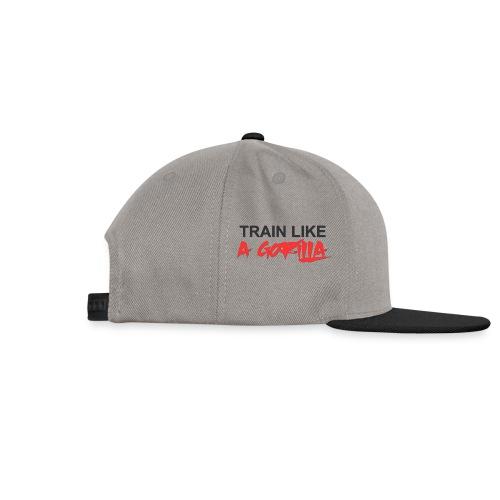 TRAIN LIKE A GORILLA - Casquette snapback