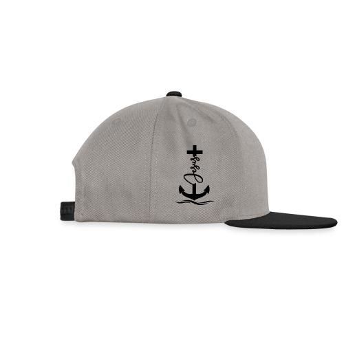 Jesus-Anker black Special - Snapback Cap