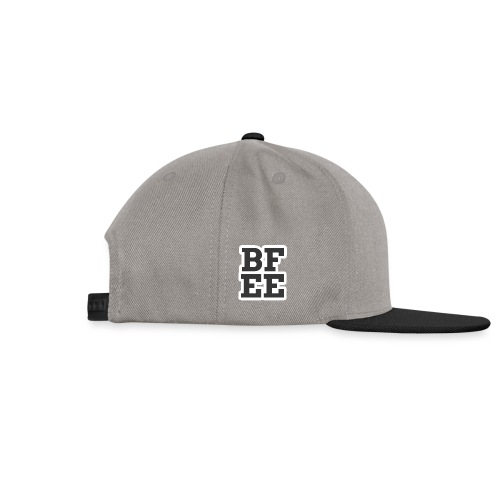 BFEE Logo Letters - Snapback Cap