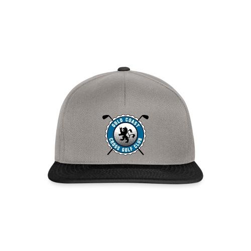 Goldcoast Crossgolf Club Logo mittel - Snapback Cap