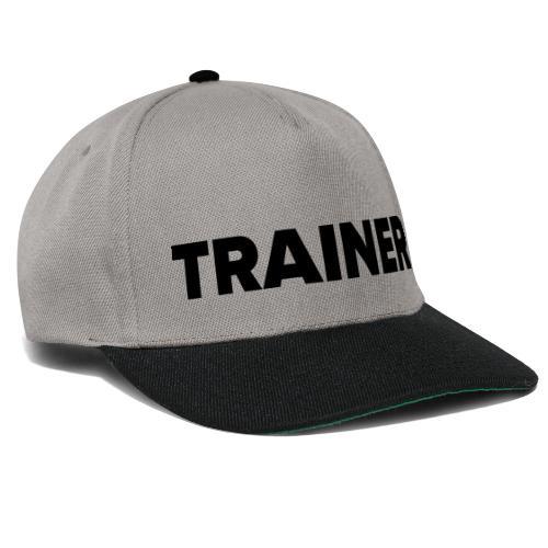 Workout Trainer Tshirt - Snapback Cap