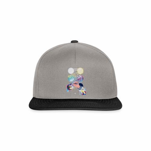 CMYK Mix and flow - Snapback Cap