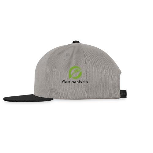 farmingandbaking_logogruen - Snapback Cap