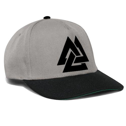 TRIANGLE BLACK - Snapback Cap