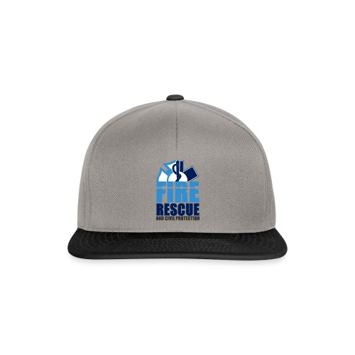 FIRE RESCUE and civil protection - Snapback Cap
